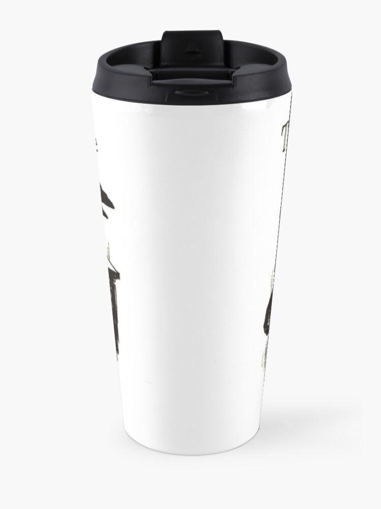 Alternate view of PASSIVE AGGRESSIVE RAVEN Travel Mug
