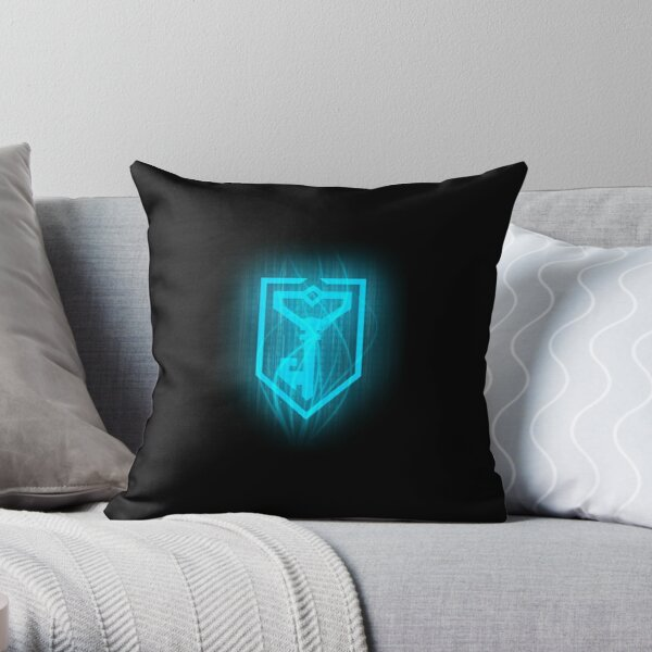 Resistance Logo Throw Pillow