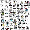 Danganronpa Eyes Photographic Print By Quixilvrr Redbubble