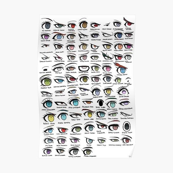 Danganronpa Eyes Poster
