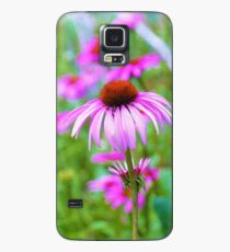 Garden Full of Pink Coneflowers Case/Skin for Samsung Galaxy