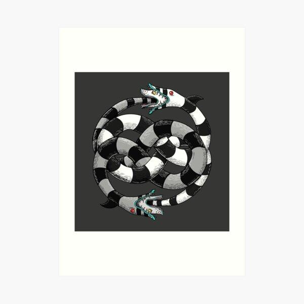 sandworms Art Print