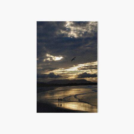 Byron Bay Sunset  Art Board Print