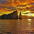 Island Sunset by Morris Klein