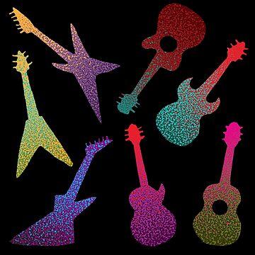 Guitars by zeljkica