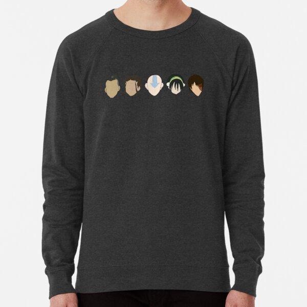 Team Avatar graphic heads Lightweight Sweatshirt