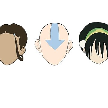 Team Avatar graphic heads by pthulin