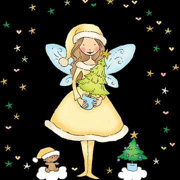 Christmas fairy by NovaPaint