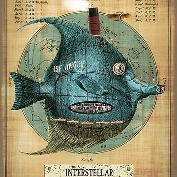 Interstellar Sub Atomic Space Fish by Salocin