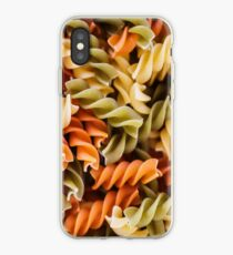 Gluten Free - Noodle Pasta Pattern Dress!! iPhone Case