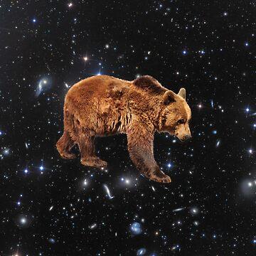 Space Bear by JStuartArt
