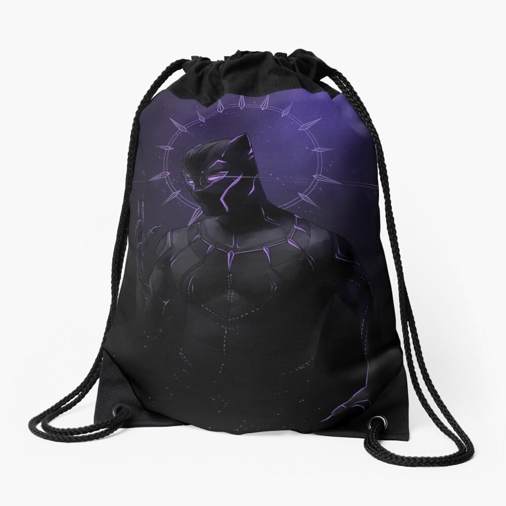 the Panther Drawstring Bag