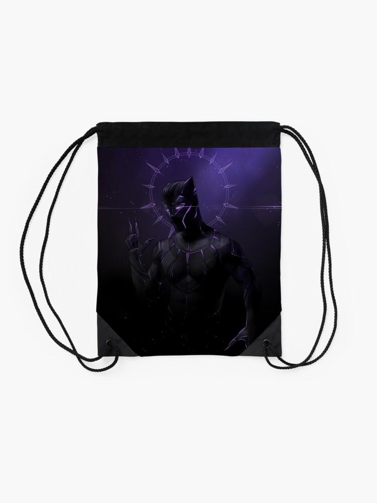 Alternate view of the Panther Drawstring Bag
