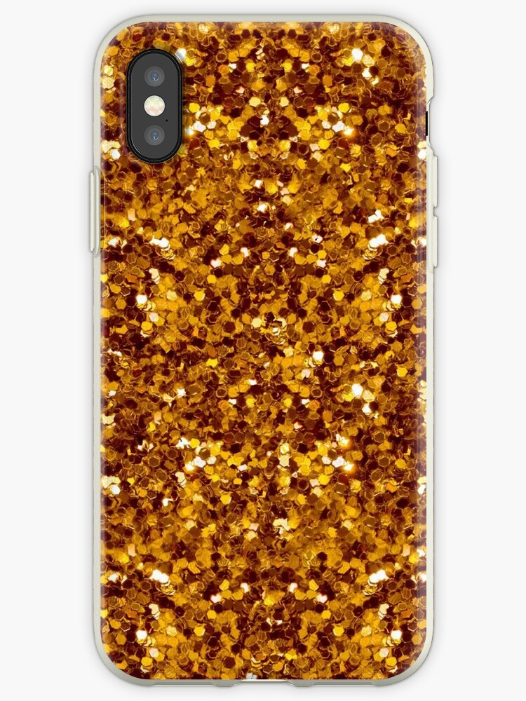 Gold Flakes Glitter  by endidesigns