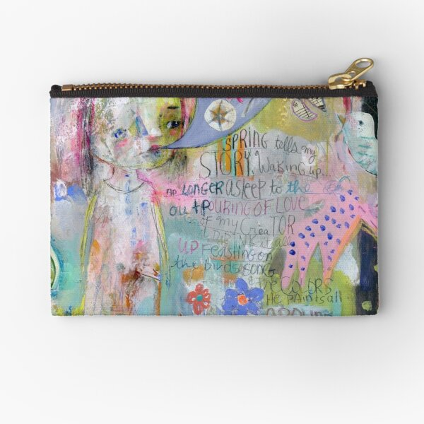Drink in Color Zipper Pouch