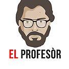 El Profesor - La casa de papel by Hilaarya