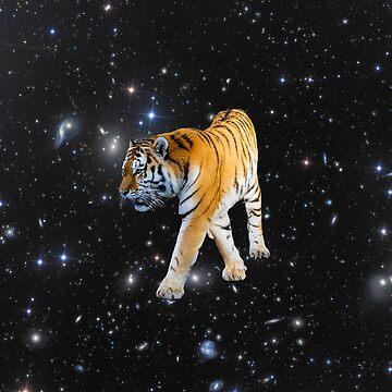 Space Tiger by JStuartArt