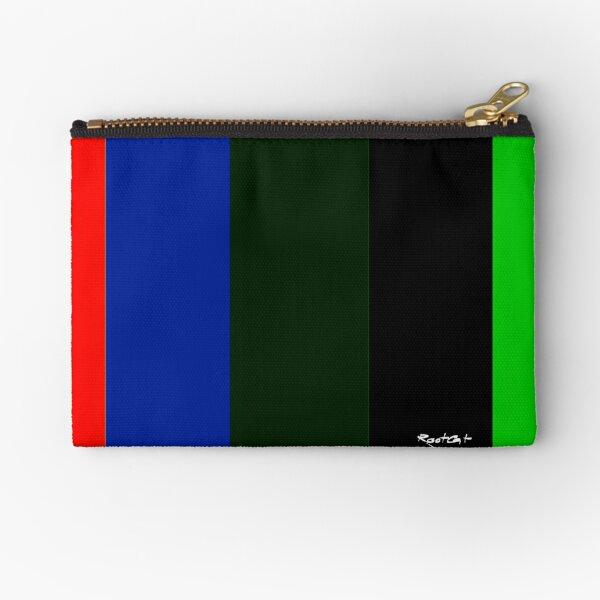 Color Lines N°5 Zipper Pouch