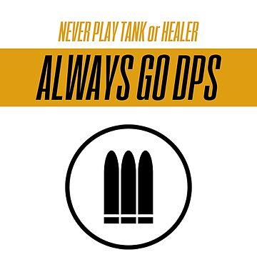 Fan Art Arcade Shooter - ALWAYS DPS by HelenFerroni