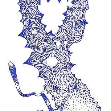 The talking Doggie-flower of Odilon R. by mmooww