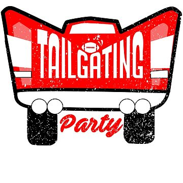 Football or Other Sports Tailgating Party Stadium Parties Shirts Clothing & Others by joyfuldesigns55