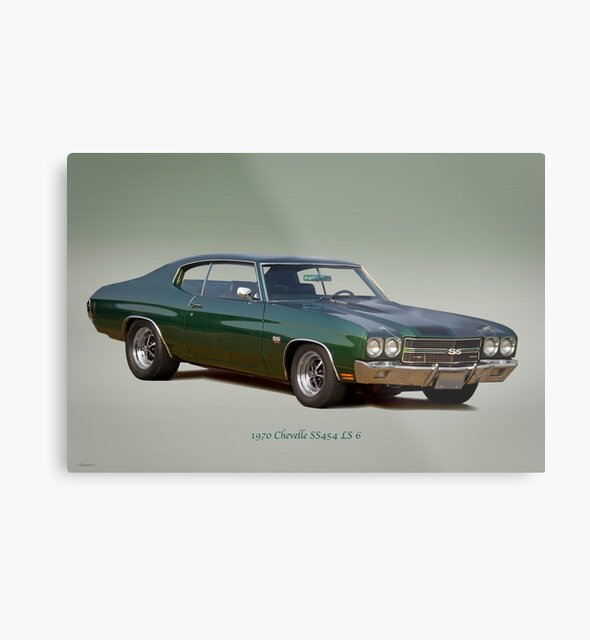 1970 Chevelle Super Sport SS454 LS 6 by DaveKoontz