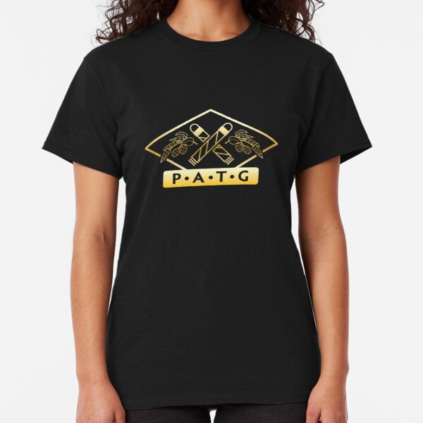 Gold Gradient - Simple One Color Logo Classic T-Shirt