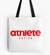 Athlete Active red Tote Bag