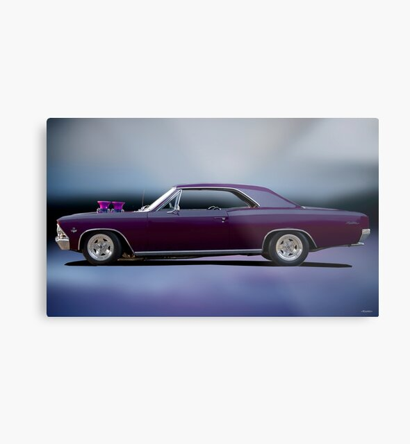 1966 Chevelle Malibu 'Studio Profile' by DaveKoontz