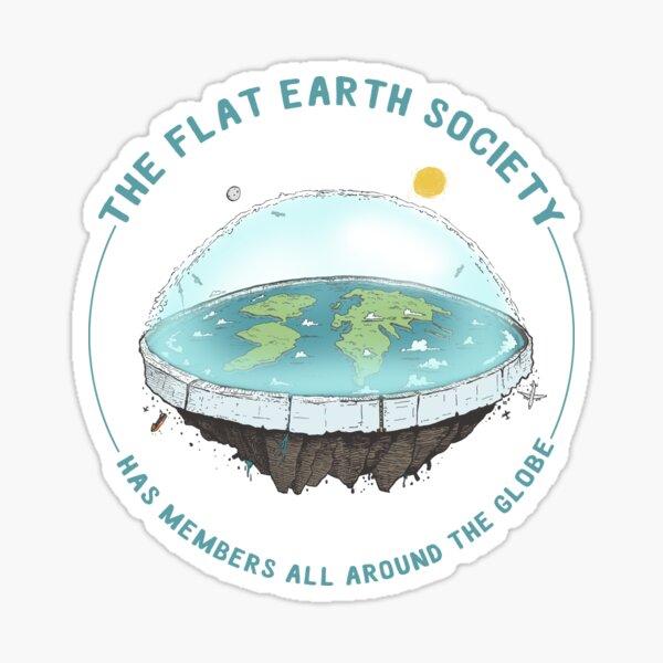 Flat Earth  Sticker