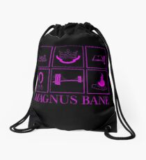 Minimalistic • Magnus Bane • Drawstring Bag