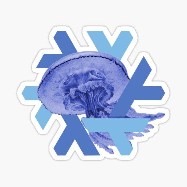 NixOS 18.09 Jellyfish Sticker