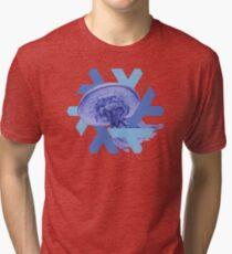 NixOS 18.09 Jellyfish Tri-blend T-Shirt