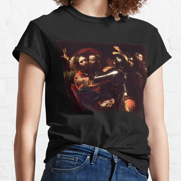 The Taking of Christ - Michelangelo Merisi da Caravaggio Classic T-Shirt