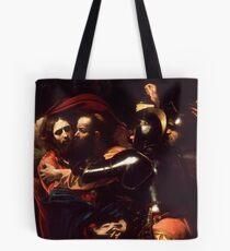 The Taking of Christ - Michelangelo Merisi da Caravaggio Tote Bag