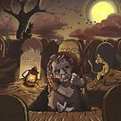 The Grave Digger and his Cats by grosvenordesign
