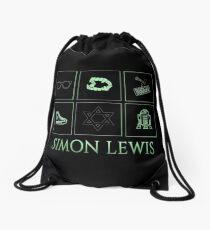 Minimalistic • simon Lewis •  Drawstring Bag