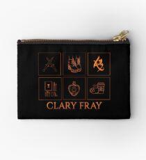 Minimalistic • clary fray •  Studio Pouch