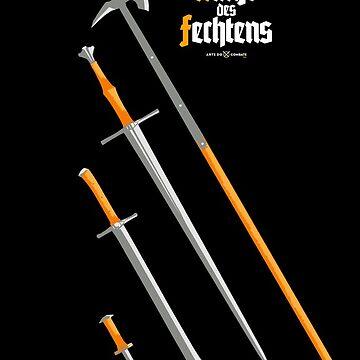 Kunst des Fechtens / Glefen, Sper, Swert vnde Messer by ArteDoCombate