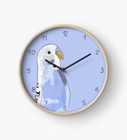Wellensittich Uhr