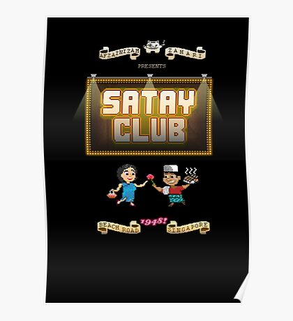 satay club poster Poster