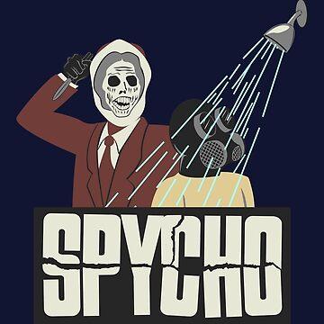 Spycho by Turlguy