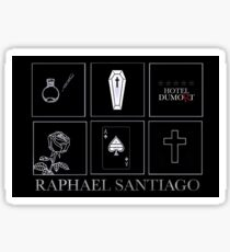 Minimalistic • Raphael Santiago • Sticker