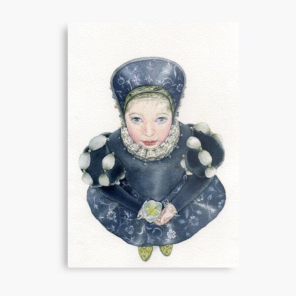 My dear little Lizetta.. Metal Print