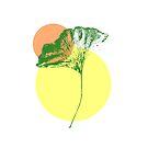 Ginkgo Leaf - #3 by LadyBaigStudio