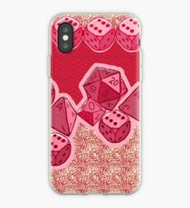 Lucky Dice - Pink iPhone Case
