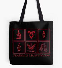 Minimalistic • Isabelle Lightwood • Tote Bag