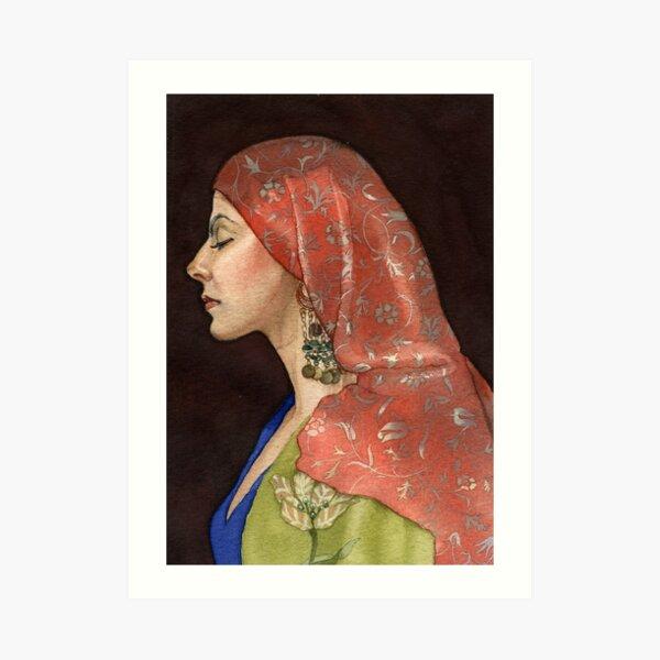 Tonia Art Print