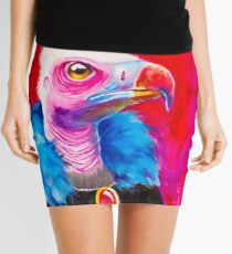 Victorian Vulture Mini Skirt
