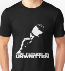 future is unwritten Unisex T-Shirt